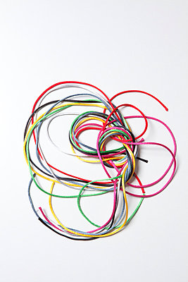 Schnüre Kabelsalat - p4540982 von Lubitz + Dorner