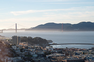 View on Golden Gate Bridge - p795m1159954 by Janklein