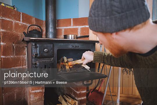 Schutzhütte in Schweden - p1396m1564415 von Hartmann + Beese