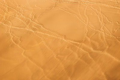 Traces in desert, aereal view - p1065m982622 by KNSY Bande