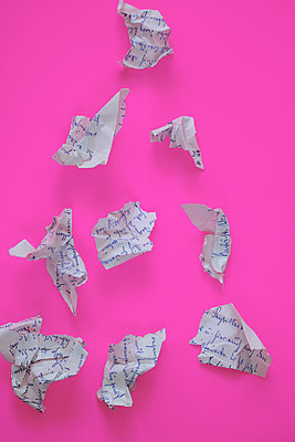 Torn letter - p450m2223617 by Hanka Steidle