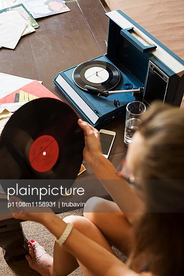 Platten hören - p1108m1158931 von trubavin
