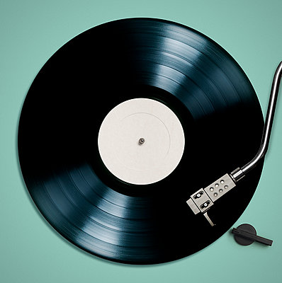 Record Player - p394m1154710 by Stephen Webster