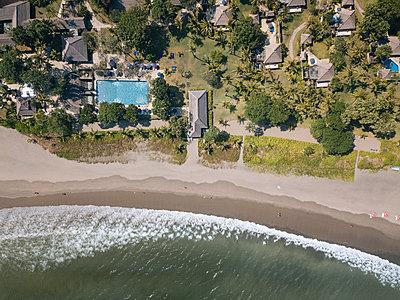 Indonesia, Bali, Aerial view of beach - p300m2023834 von Konstantin Trubavin