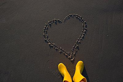 Liebe am Strand - p454m1065492 von Lubitz + Dorner