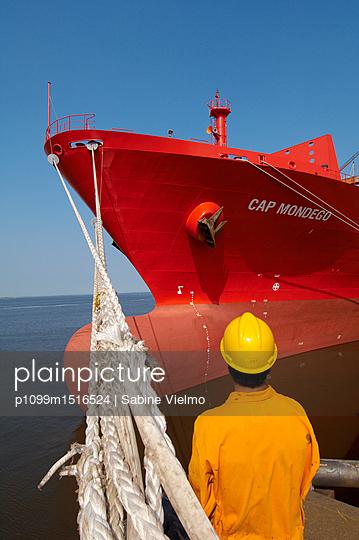 Containerterminal Bremerhaven - p1099m1516524 von Sabine Vielmo