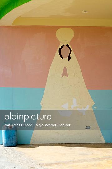Wandmalerei - p451m1200222 von Anja Weber-Decker