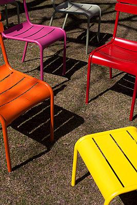 Garden chairs - p756m813311 by Bénédicte Lassalle