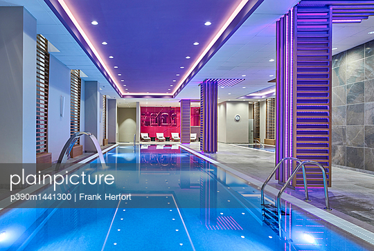 Luxury spa with pool - p390m1441300 by Frank Herfort