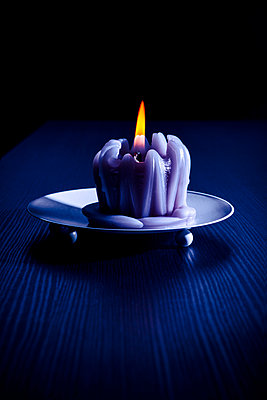 Candle - p1149m2278583 by Yvonne Röder