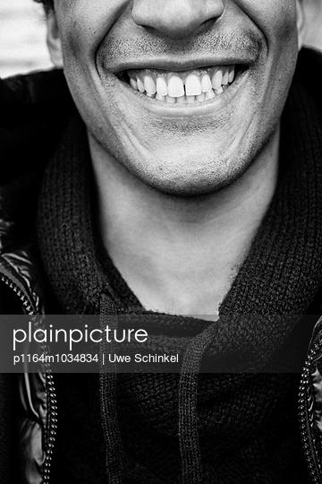 Breites Lächeln - p1164m1034834 von Uwe Schinkel
