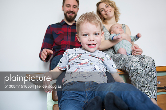 Familienbild - p1308m1516584 von felice douglas