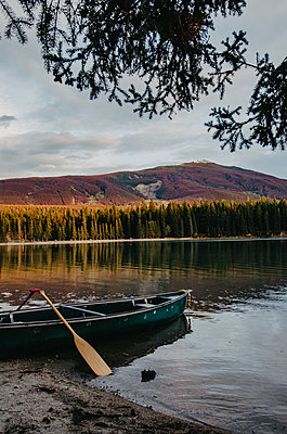 Lake Annette - p1455m2092343 by Ingmar Wein