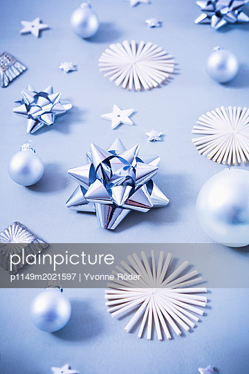 Christmas decoration - p1149m2021597 by Yvonne Röder