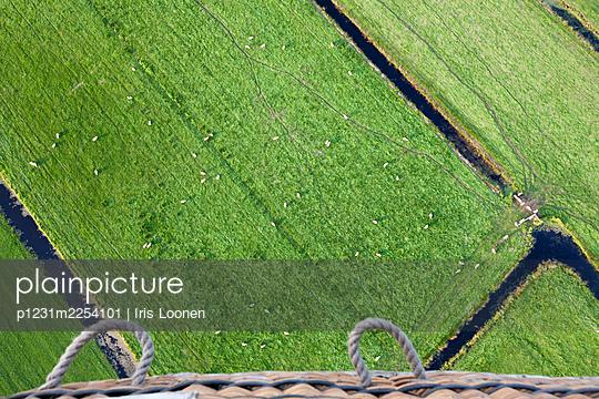 View from an air balloon - p1231m2254101 by Iris Loonen