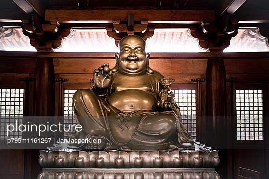 Buddha-Statue - p795m1161267 von Janklein