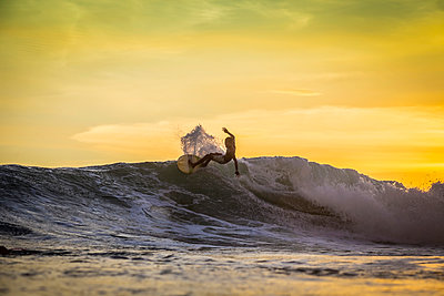 Surfer on a wave - p1108m1118823 by trubavin