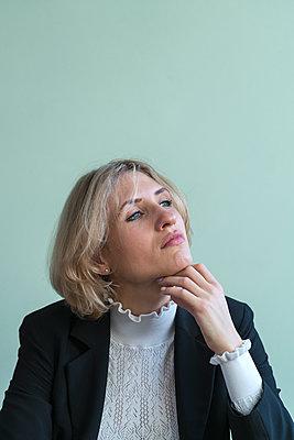 Geschäftsfrau - p427m2090083 von Ralf Mohr