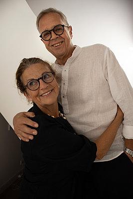 Happy senior couple - p1640m2254770 by Holly & John