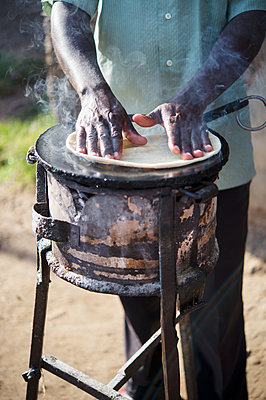 Africa, Uganda, African food - p1167m2283436 by Maria Schiffer