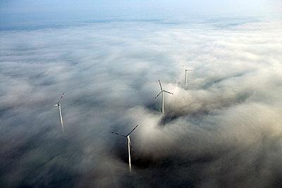 Windpark bei Zeven - p1016m742041 von Jochen Knobloch