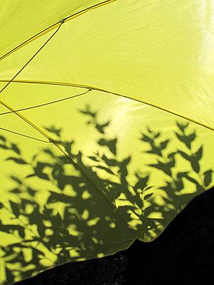 Gelber Sonnenschirm - p539m1502987 von ebba