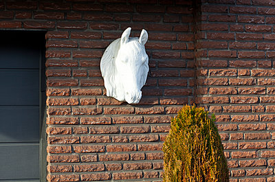 Pferdestall - p1043m1225366 von Ralf Grossek