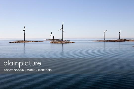 Windenergie - p322m720706 von Markku Konkkola