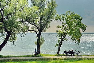 Summer at Lake Müritz  - p1016m2045220 by Jochen Knobloch