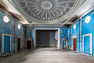 Abandoned Theater - p1440m1497505 by terence abela