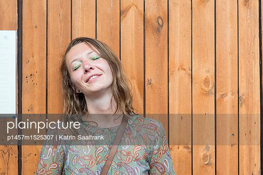 Müde - p1457m1525307 von Katrin Saalfrank