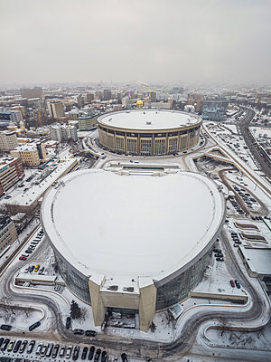 Olympic Stadium in Moscow - p390m2122358 by Frank Herfort