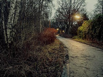 Einsamer Heimweg - p536m1463158 von Schiesswohl