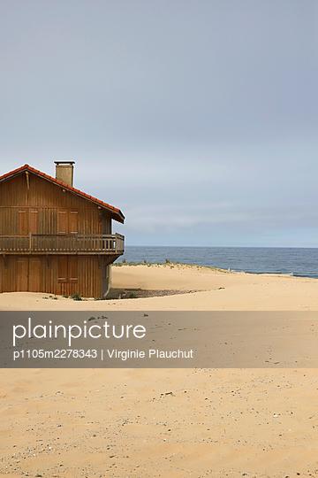 France, Saint-Girons Plage, Summer cottage - p1105m2278343 by Virginie Plauchut