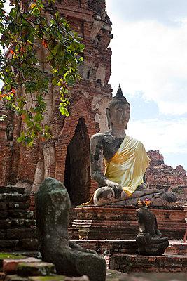 Ayutthaya Tempelanlage - p7980190 von Florian Löbermann