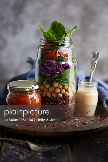 Preserved vegetables - p1640m2261104 by Holly & John