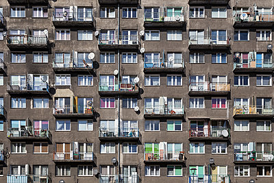 Facade, Wroclaw - p1256m2037352 by Sandra Jordan
