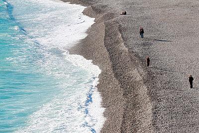 Winter Beach - p977m891826 by Sandrine Pic