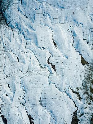 Alaska, Glacier - p1455m2204504 by Ingmar Wein