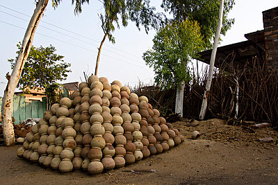 Töpferei in Indien - p162m763134 von Beate Bussenius