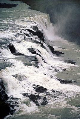 Wasserfall Island - p4510470 von Anja Weber-Decker