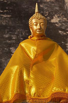 Thailändischer Buddha - p6060029 von Iris Friedrich