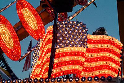 Amerikanische Flagge - p0670600d von Thomas Grimm
