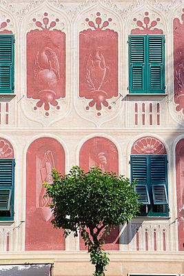 Santa Margherita Ligure, Trompe-l'œil - p1057m1069398 von Stephen Shepherd