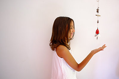Hanging mobile - p1105m2054920 by Virginie Plauchut