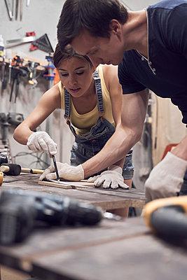 In workshop - p1630m2203536 by Sergey Mironov