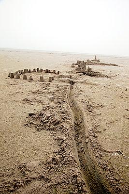 Abandoned sandcastle - p382m1590724 by Anna Matzen