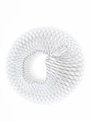White plastic net - p401m2172642 by Frank Baquet