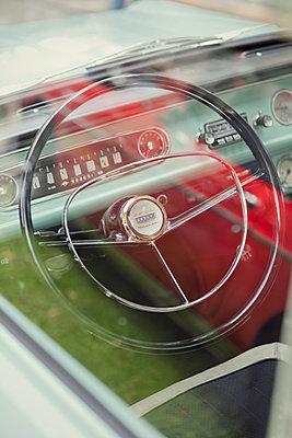 Classic car - p784m890855 by Henriette Hermann