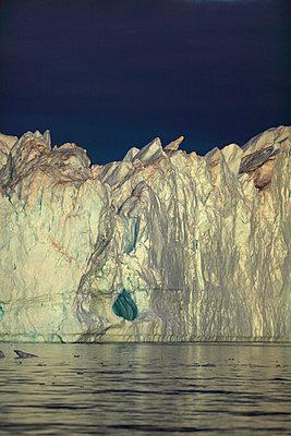 Iceberg, Arctic Ocean, Greenland - p1026m992018f by Romulic-Stojcic